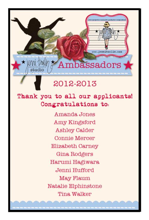 Ambassador banner announcement