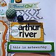 detail: arthur river..