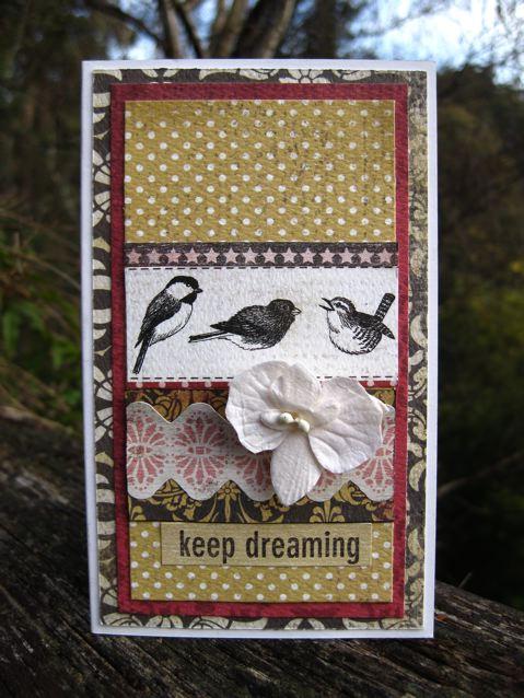 keep dreaming card